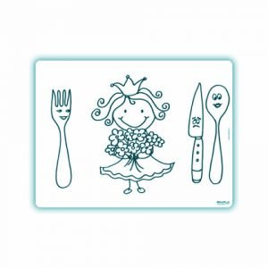 Edwali Herkleurbare Placemat Prinses Madelief