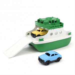 Green Toys Groen-Witte Veerboot