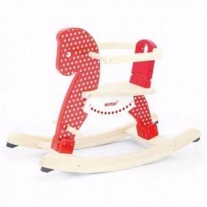 hobbelpaard-blank-hout-rood-pin-toys