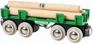 BRIO Houttransport wagon