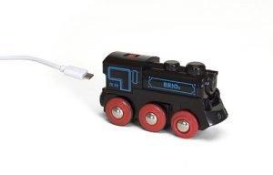 Brio Zwarte oplaadbare zelfrijdende trein