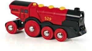 Brio Rode zelfrijdende locomotief