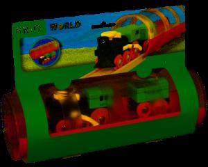 Brio stoomtrein en tunnel