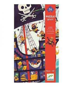 Djeco Puzzel Piratenboot 36 stuks