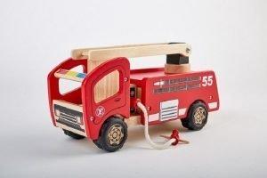 Pintoy Houten brandweerwagen
